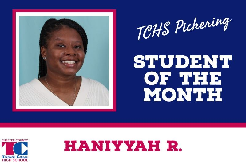 Student of the Month - Haniyyah R.